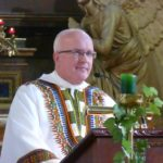 Fr Gerry during homily at the Fr John Sullivan Mass - October 2016