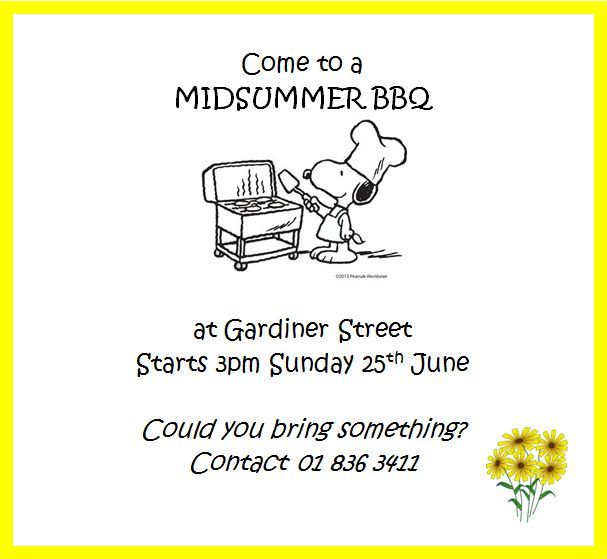 Midsummer BBQ for Volunteers