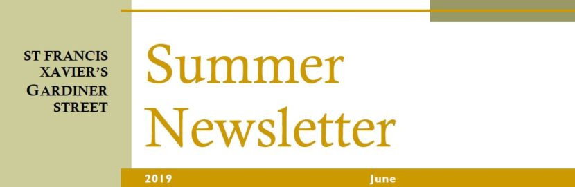 Banner for Summer 2019 Newsletter