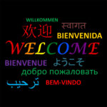 WELCOME indifferent languages