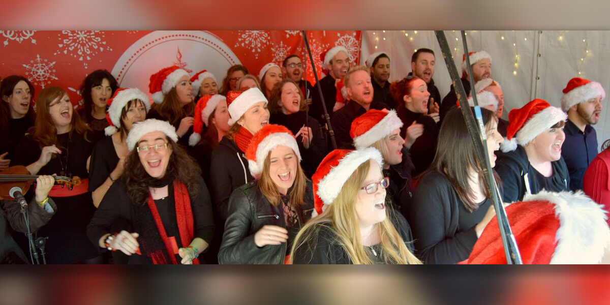 Gardiner Street Gospel Choir at Christmas