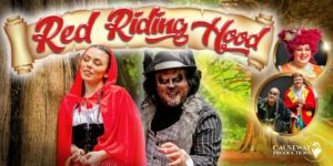 Red Riding Hood panto poster